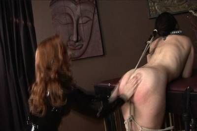 spanking, Sinn Sage and Mistress Gemini, erotic spanking and bondage